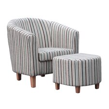 Hasta Tub Chair & Ottoman Set