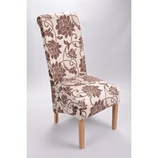 Mia Floral Oak Dining Chair