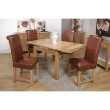 Oaken Medium 5 Piece Dining Set
