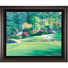 """Augusta 12 Golden Bell"" Canvas Framed Art"