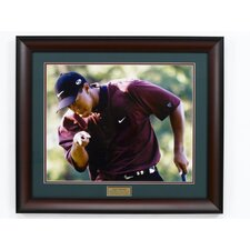 "<strong>Golf Gifts & Gallery</strong> ""Tiger"" Framed Photography"