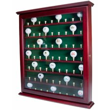 <strong>Golf Gifts & Gallery</strong> 63 Ball Display Cabinet with Door