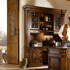 Laredo Executive Desk with Storage Deck