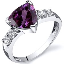 Solitaire Style 2.50 carats Cubic Zirconia Ring in Sterling Silver