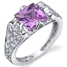 Elegant Opulence 1.50 Carats Ring in Sterling Silver