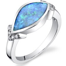 Opal Marquise Ring
