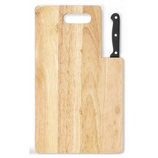 "Essential Series 5"" Santoku Knife with Cutting Board"