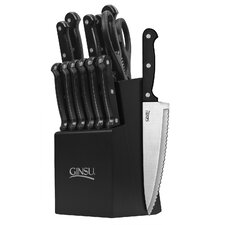 Ginsu Essential Series 14 Piece Cutlery Block Set II