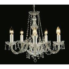 Luxury Modra 5 Light Crystal Chandelier
