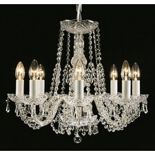 Luxury Modra 8 Light Crystal Chandelier