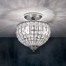 Metz 3 Light Semi Flush Mount