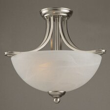 Classic Texas 2 Light Semi Flush Mount