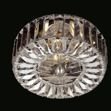 Seville 2 Light Crystal Flush Mount