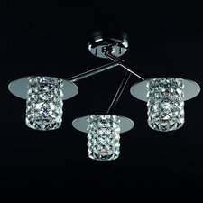 Veta 3 Light  Semi Flush Light