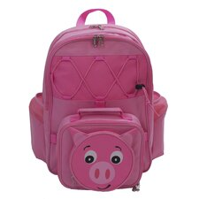 Children's Friendly Faces Pig Backpack