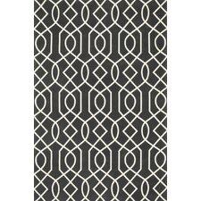 Felix Geometric Charcoal/Ivory Rug
