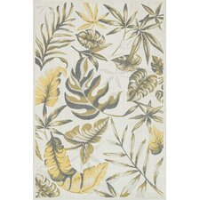 Oasis Ivory/Citron Outdoor Rug