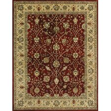 Yorkshire Red/Light Gold Area Rug