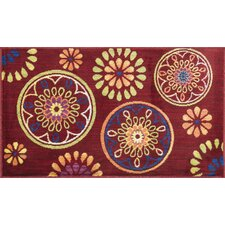 <strong>Loloi Rugs</strong> Isabelle Red/Multi Rug