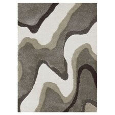 Encore Gray & White Area Rug
