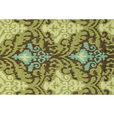 Francesca Brown & Green Area Rug