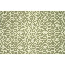 Francesca Green Floral Area Rug