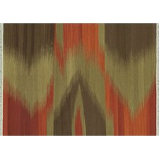 Santana Red / Brown Rug