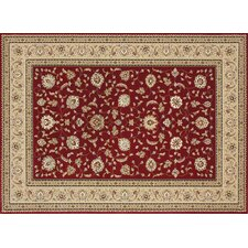 Welbourne Red / Beige Rug