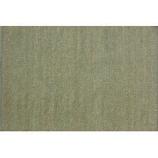 Green Valley Green Solid Area Rug