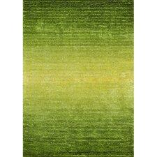 Jasper Shag Green Glow Rug