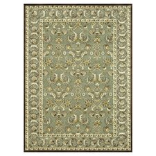 Halton Green / Gold Rug