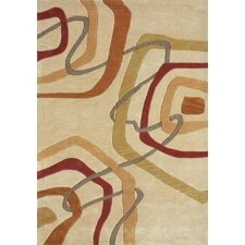 Abacus Light Gold Area Rug