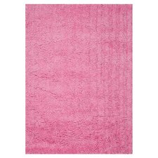 Hera Pink Solid Area Rug