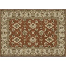 Fairfield Rust/Beige Rug