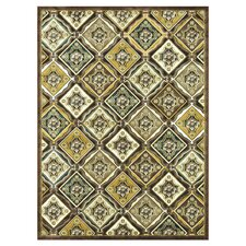 Halton Light Brown / Gold Rug