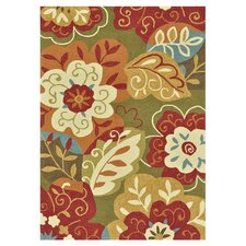 <strong>Loloi Rugs</strong> Francesca Green / Multi Rug