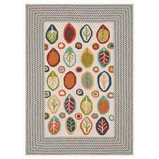 Zamora Ivory Indoor/Outdoor Area Rug