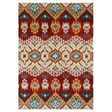Leyda Red / Multi Colored Rug