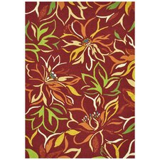 Sunshine Crimson Indoor/Outdoor Rug