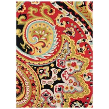Francesca Red / Black Rug