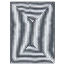 In/Out Blue Area Rug