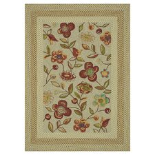 Zamora Outdoor Sage Area Rug