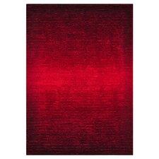 Jasper Shag Red Rug
