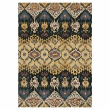 Leyda Black / Light Gold Rug