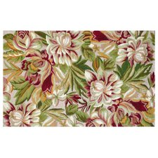 Floral Magnolia Red Hook Rug