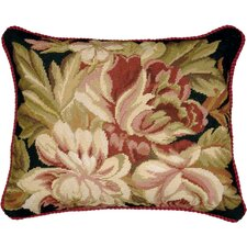 <strong>123 Creations</strong> Magnolia Needlepoint Pillow