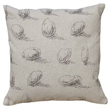 Pebbles 100% Linen Screen Print Pillow