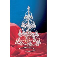 "Cheryls 1' 4"" Clear Artificial Christmas Tree"