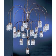 <strong>Classic Lighting</strong> Cascade 8 Light Chandelier