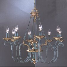 <strong>Classic Lighting</strong> Salzburg 8 Light Chandelier
